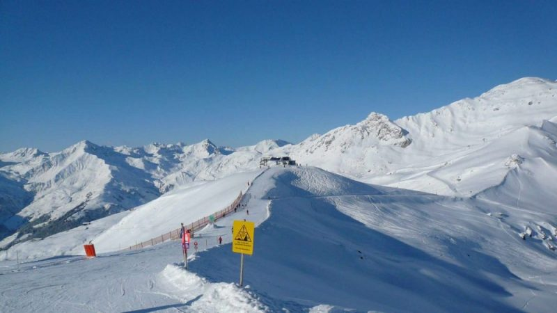 Gipfelblick im Skigebiet Mayrhofen