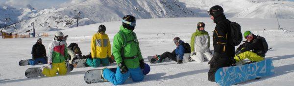 Snowboarder in Mayrhofen